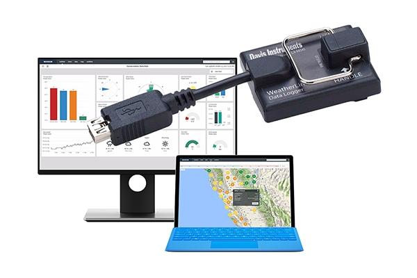 Davis VP2气象站的存储器(USB,串行,WL IP)上可以存储多少数据?
