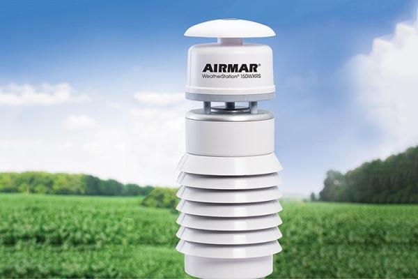 AirMar推出带有声学雨量仪的新型超声波气象传感器