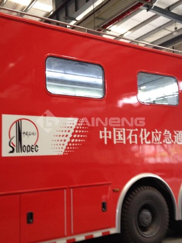 中国石化应急监测车载气象站