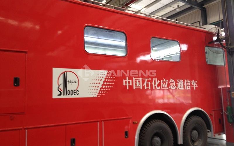 中國石化應急監測車載氣象站