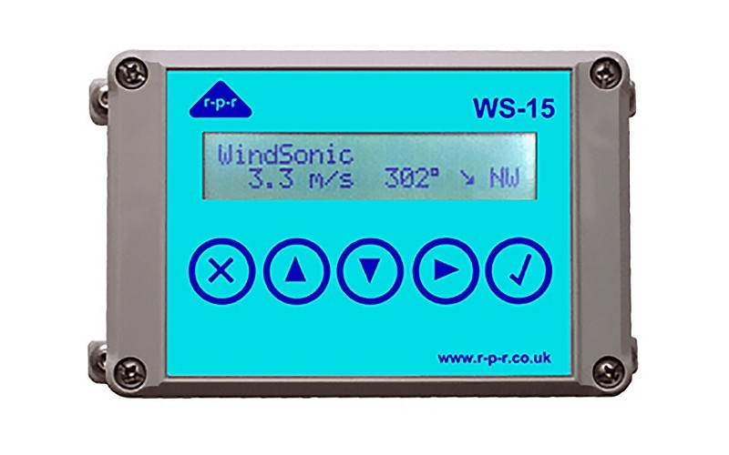 WS-15A气象数据显示器
